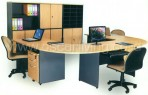 WorkStation Brilliant Centro Beech